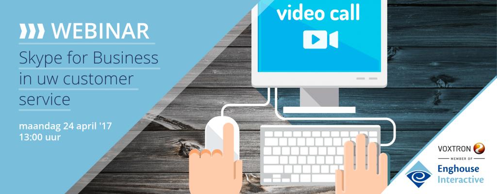 webinar - skype for business
